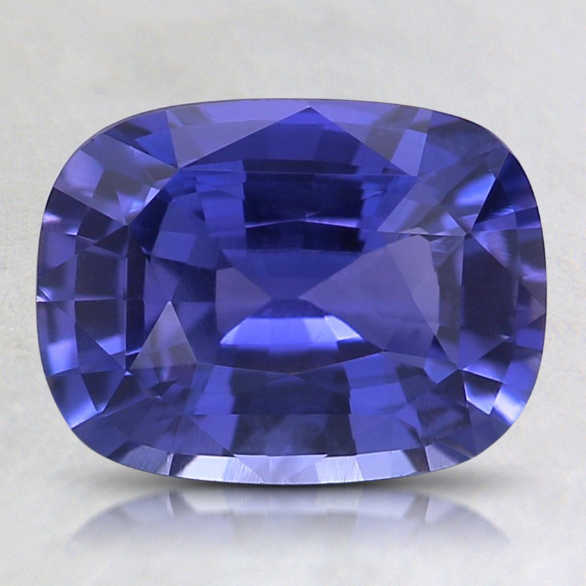 8.8x6.6mm Unheated Purple Cushion Sapphire