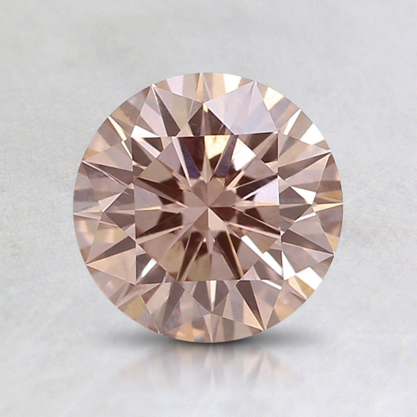 1.03 Ct. Fancy Light Pink Round Lab Created Diamond