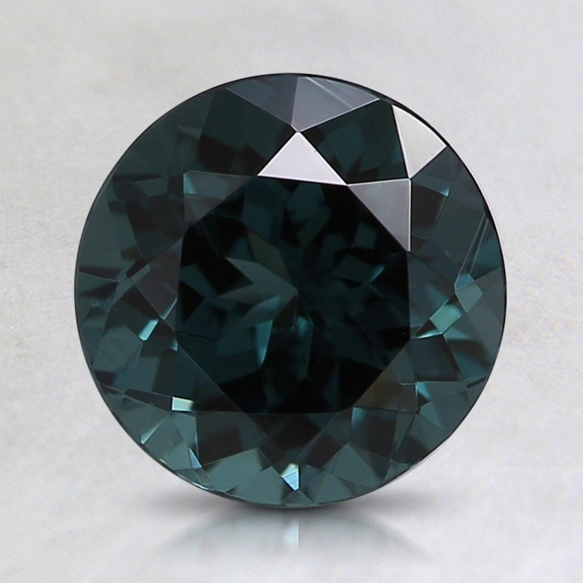 7.6mm Premium Teal Round Spinel