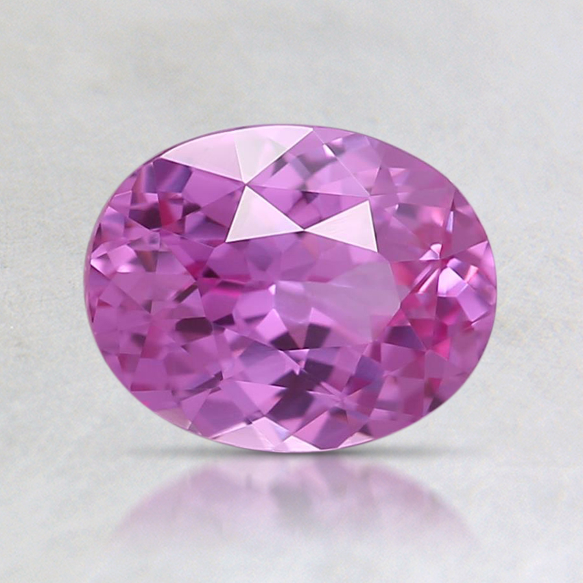 7.3x5.7mm Pink Oval Sapphire