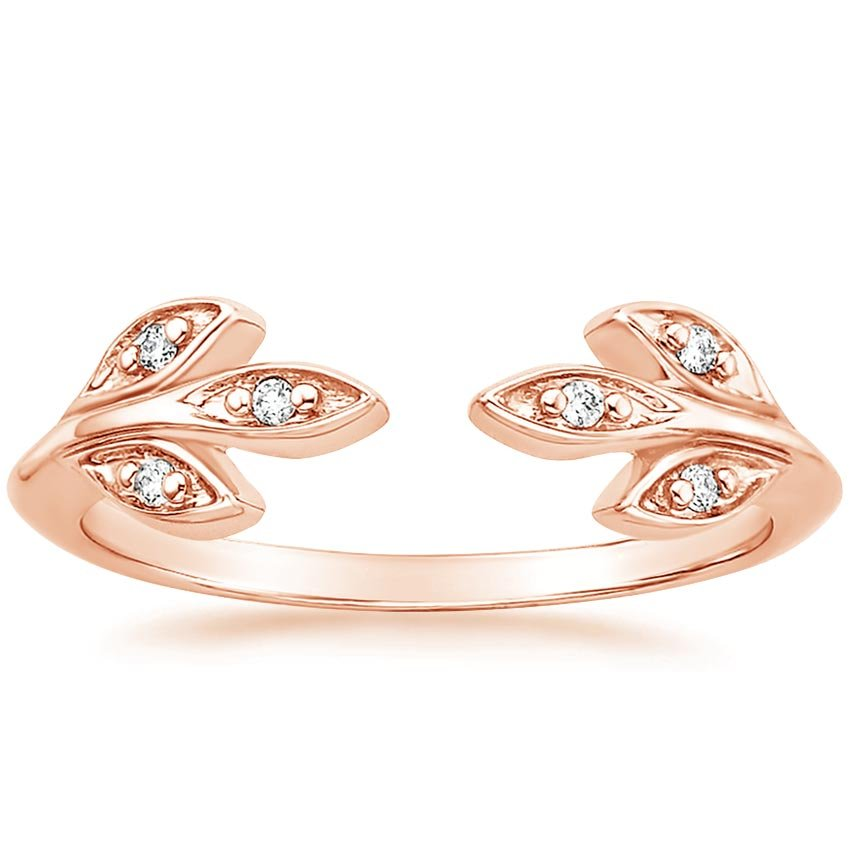 Rose Gold Juniper Diamond Ring