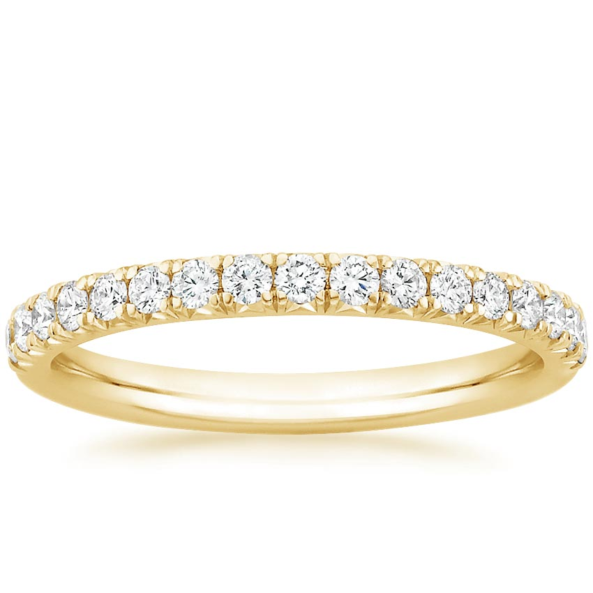 Yellow Gold Amelie Diamond Ring (1/3 ct. tw.)