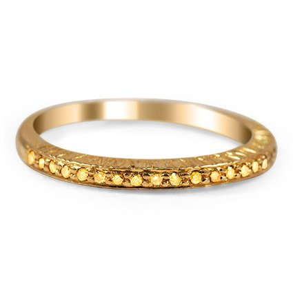 The Sundari Ring, top view