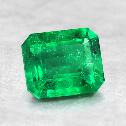 7x5.9mm Emerald, top view