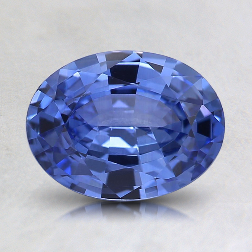 8x6.1mm Violet Oval Sapphire