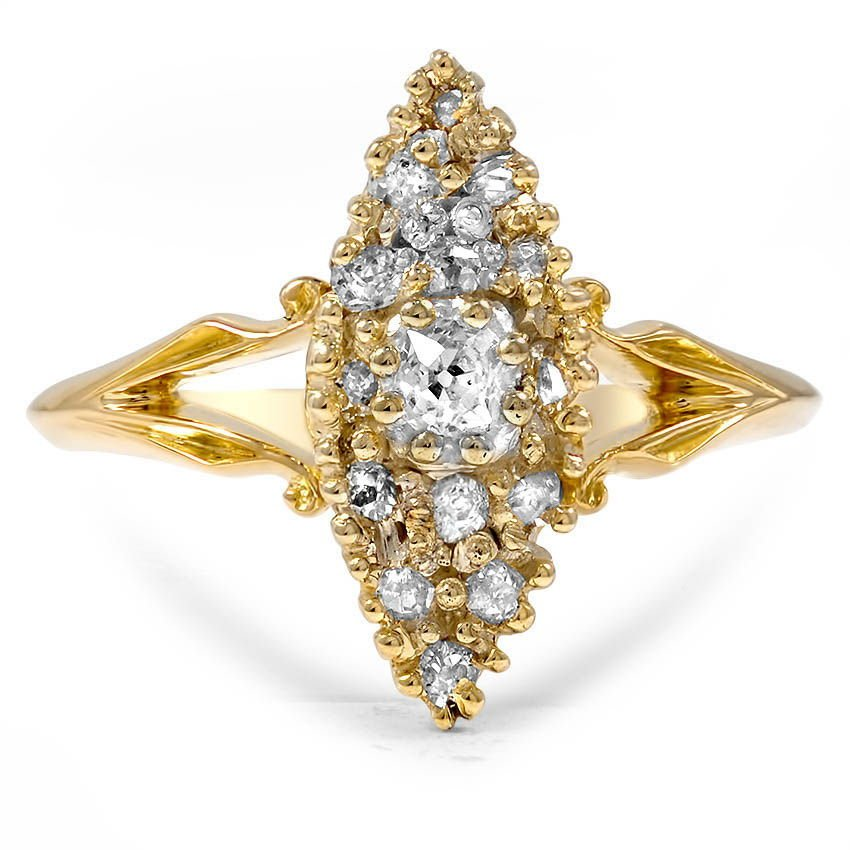The Danille Ring, top view