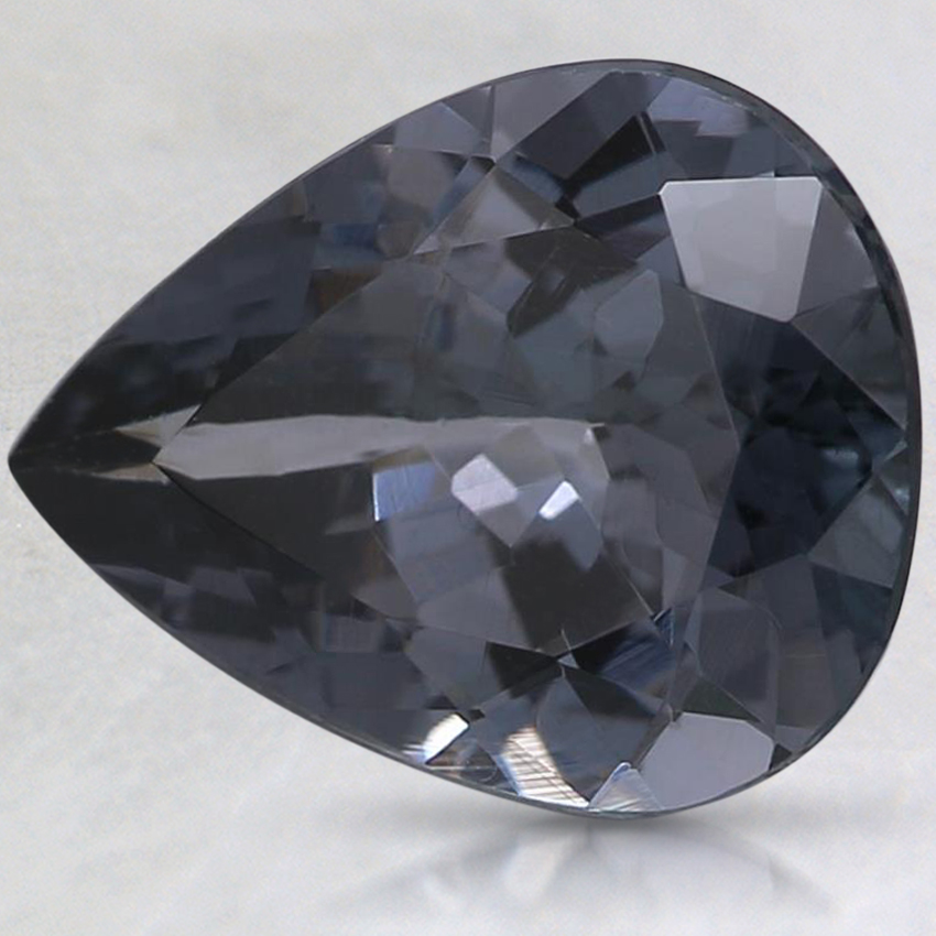10.4x8.2mm Gray Pear Spinel
