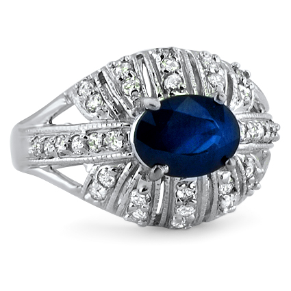 The Mikka Ring, top view