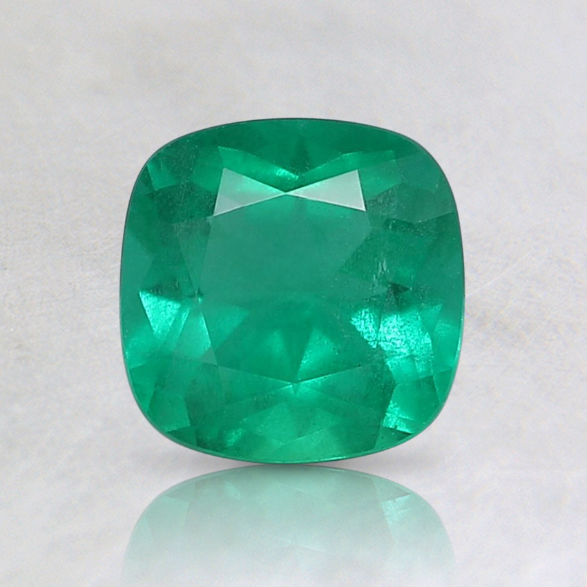 6mm Cushion Emerald