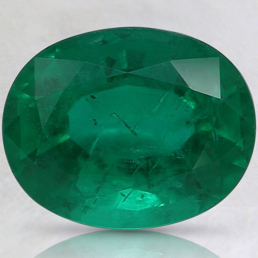9.9x7.9mm Premium Oval Emerald