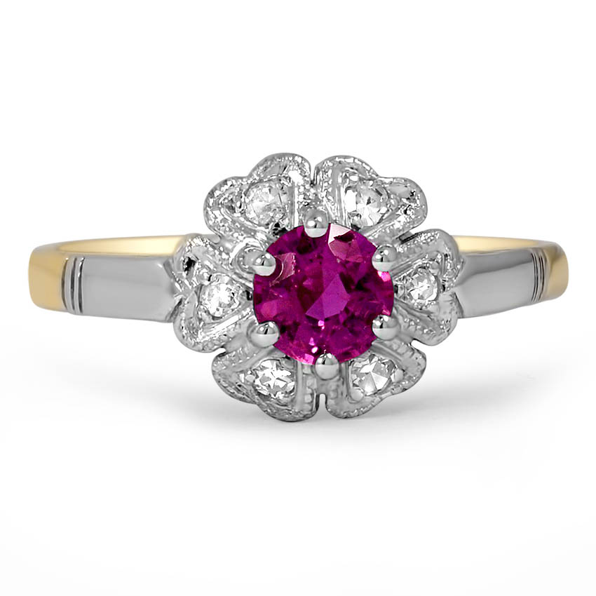 Edwardian Ruby Vintage Ring