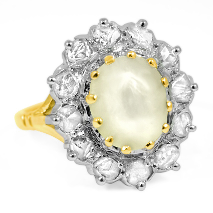 The Ursula Ring, top view