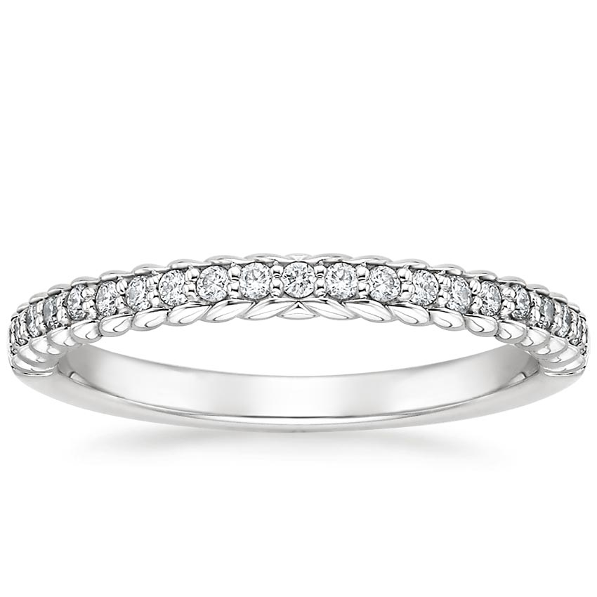 Rope Diamond Ring