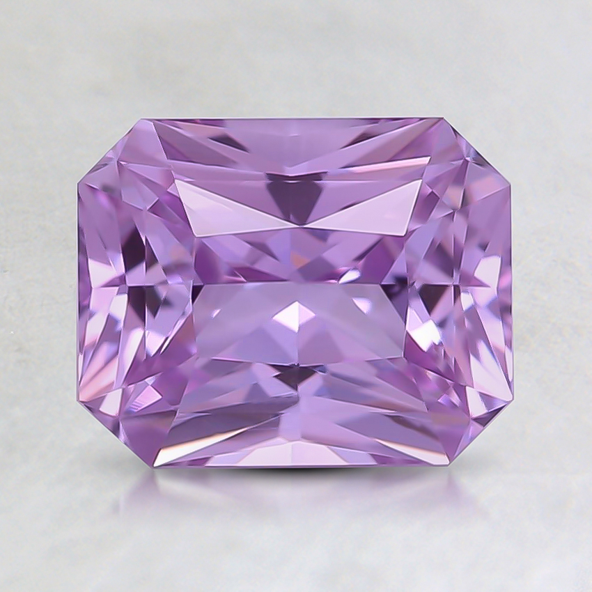 7.5x6mm Unheated Radiant Purple Sapphire