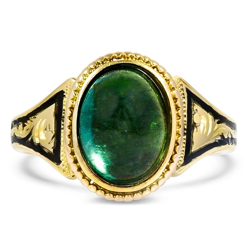 Victorian Tourmaline Cocktail Ring