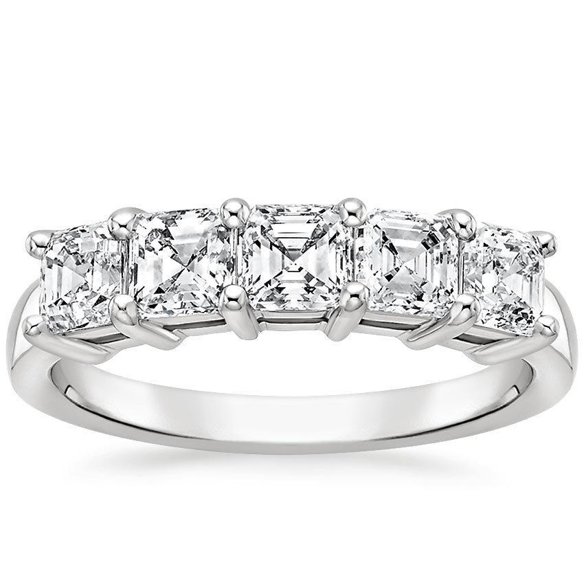 Asscher Five Stone Diamond Ring (1 1/2 ct. tw.)