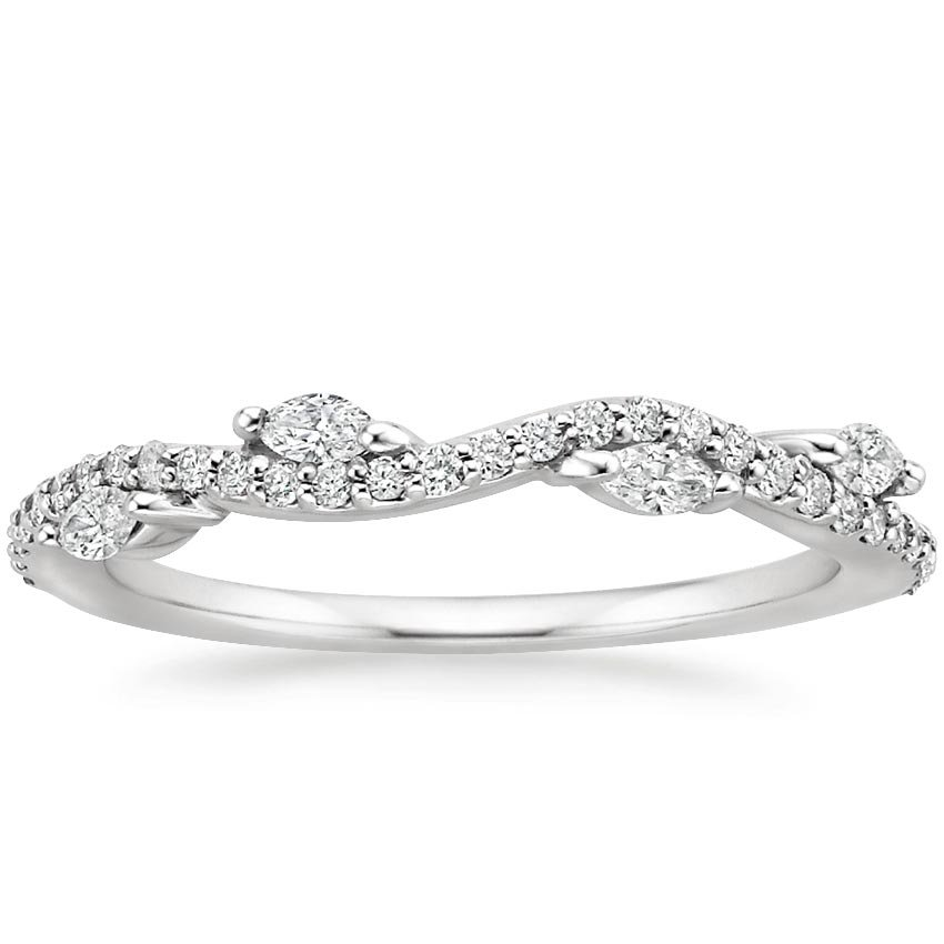 Top Twenty Women's Wedding Rings  - LUXE WINDING WILLOW DIAMOND RING (1/4 CT. TW.)