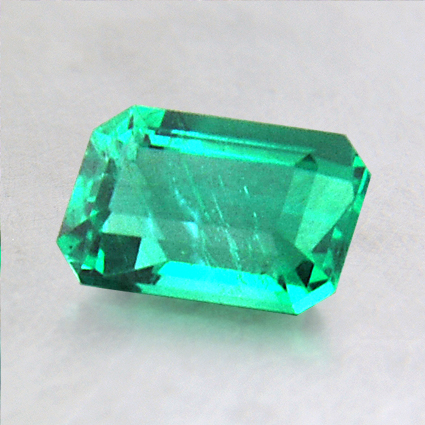 6.8x4.5mm Emerald Cut Emerald