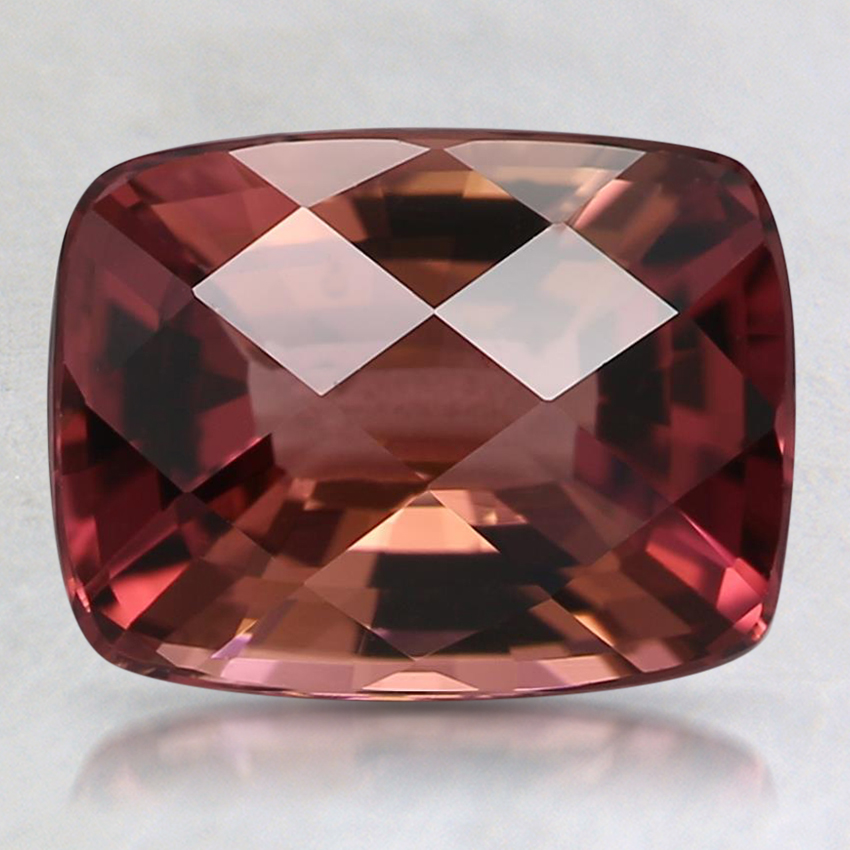 9.1x7mm Pink Cushion Tourmaline