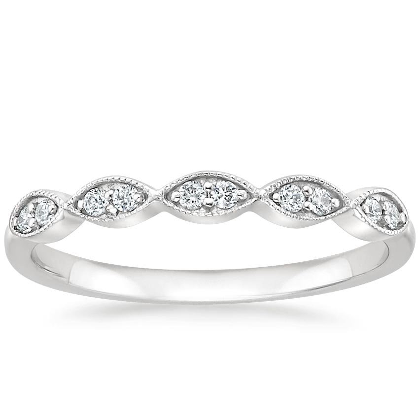 Cadenza Diamond Ring (1/10 ct. tw.) in Platinum