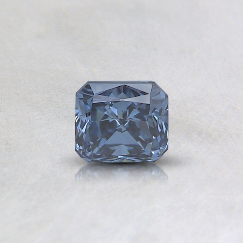 0.32 Ct. Fancy Deep Blue Radiant Lab Created Diamond