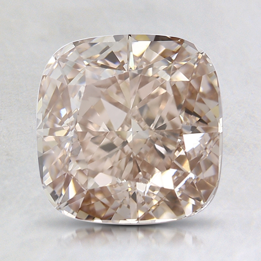 1.89 Ct. Light Brown Cushion Lab Created Diamond