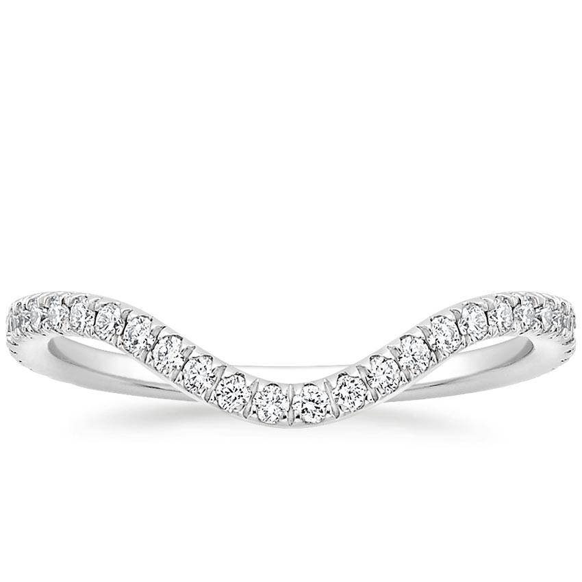 Contour Diamond Wedding Ring