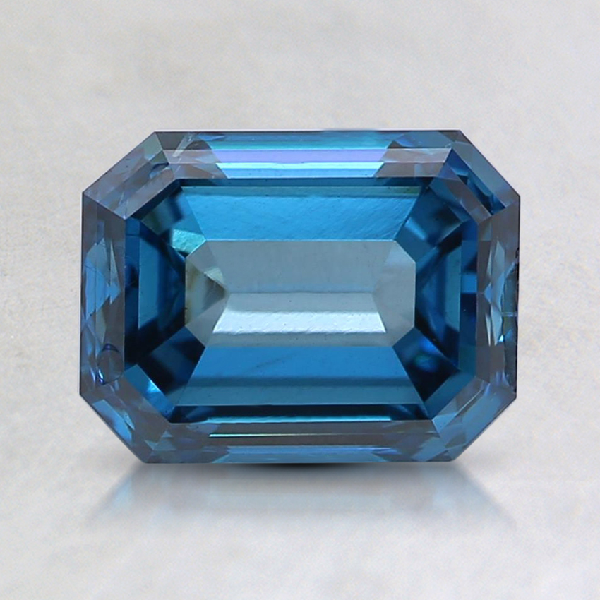 1.70 Ct. Fancy Deep Blue Emerald Lab Created Diamond
