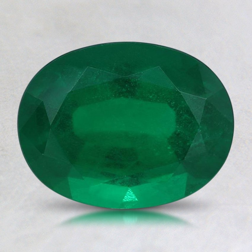 8.8x6.8mm Premium Oval Emerald