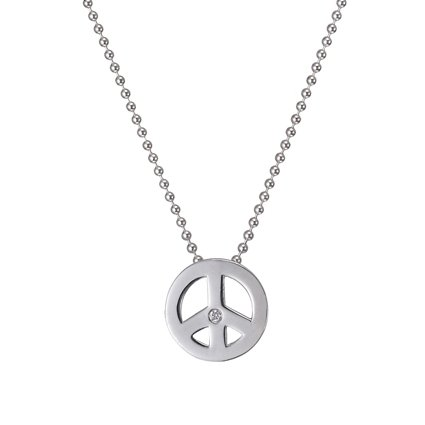 Peace Pendant in Silver