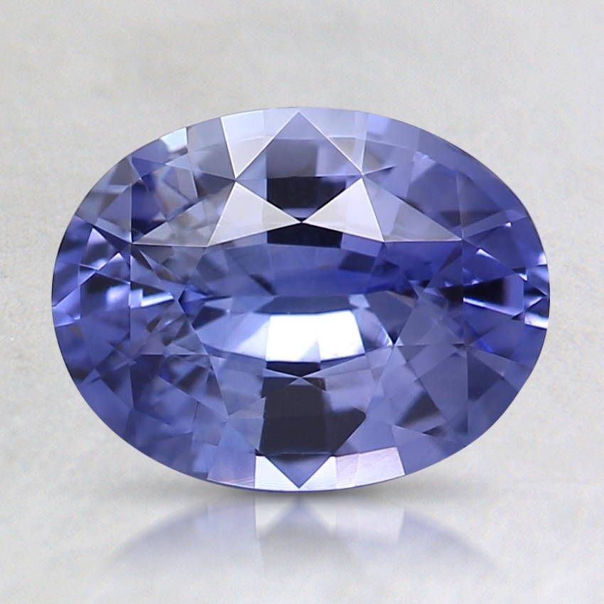 8.4x6.5mm Violet Oval Sapphire