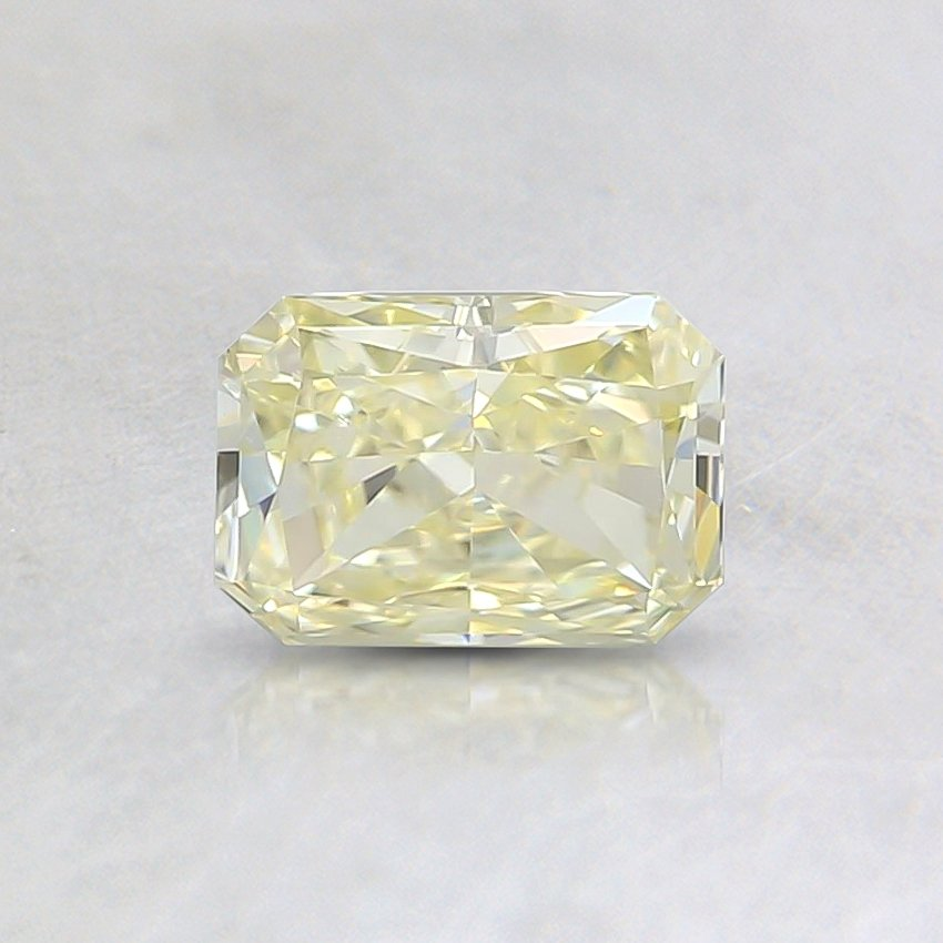 0.52 Ct. Fancy Light Yellow Radiant Diamond