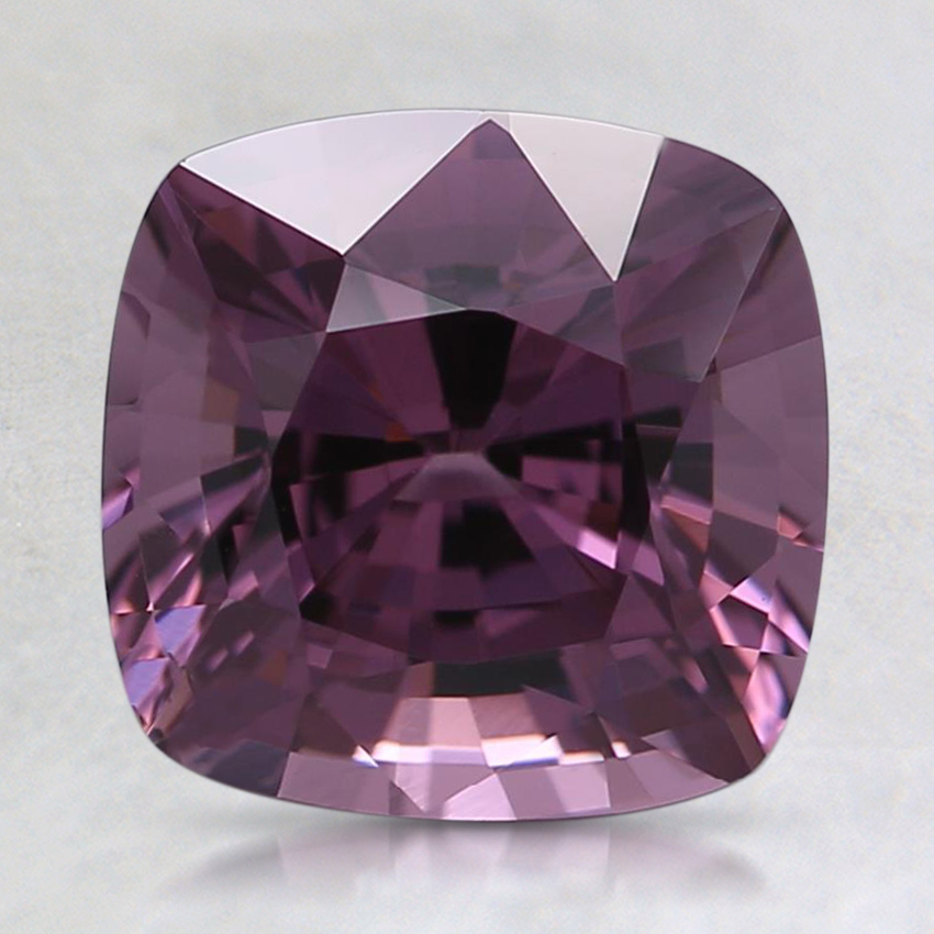 7.7x7.6mm Purple Cushion Spinel