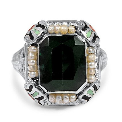 Edwardian Tourmaline Vintage Ring