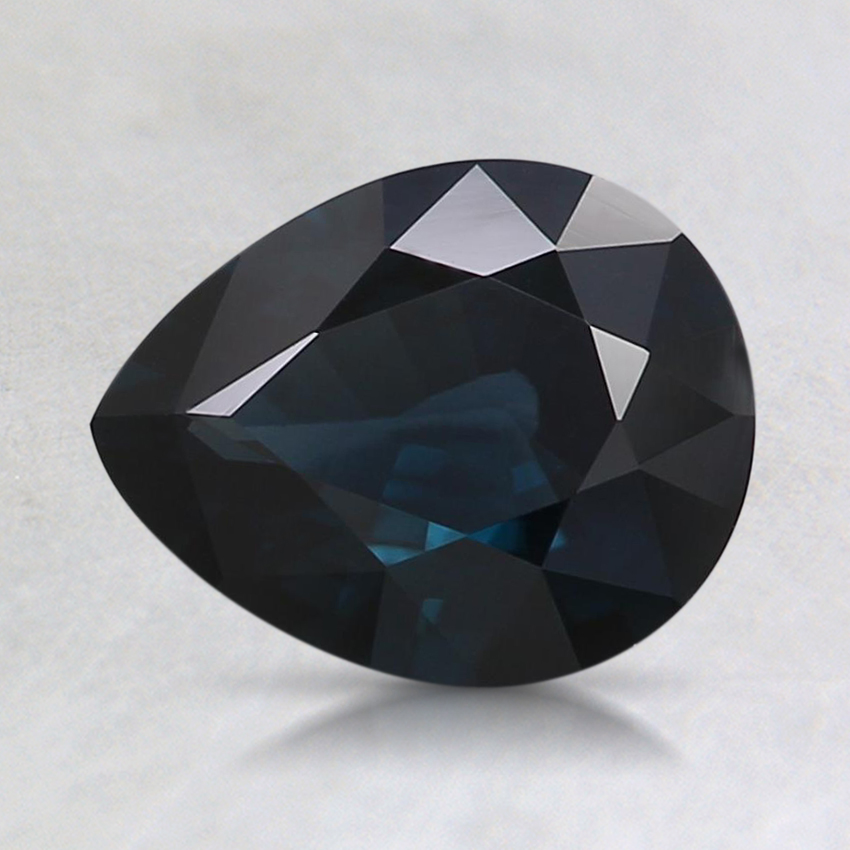 7.7x6.2mm Gray Pear Spinel