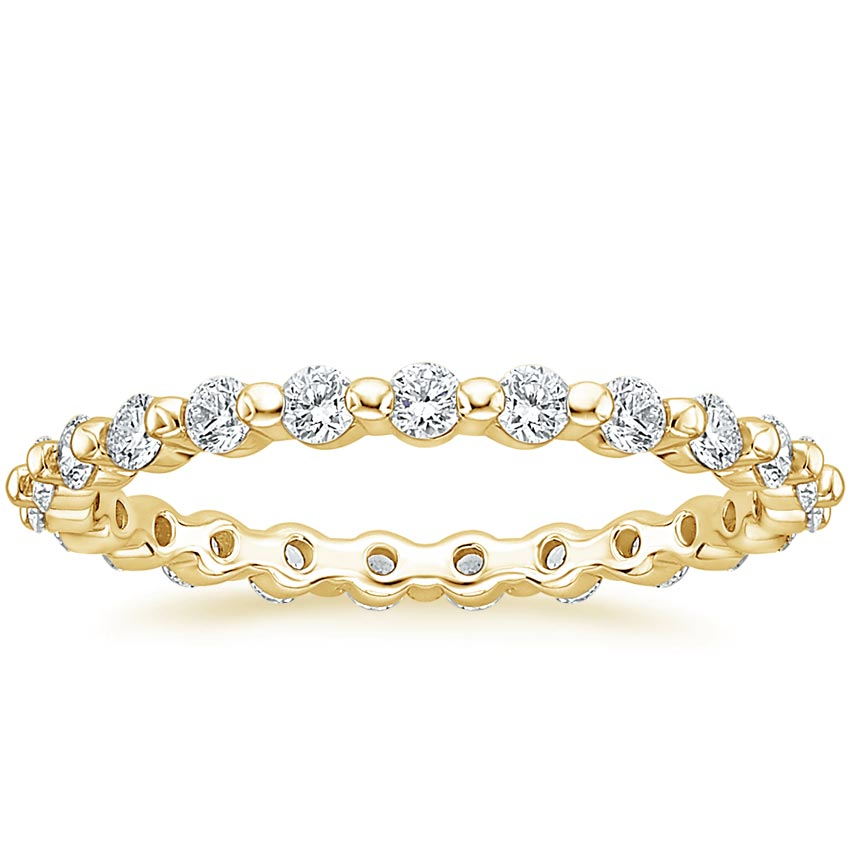 Yellow Gold Marseille Eternity Diamond Ring (2/3 ct. tw.)