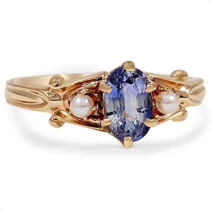 The Claudine Ring, top view