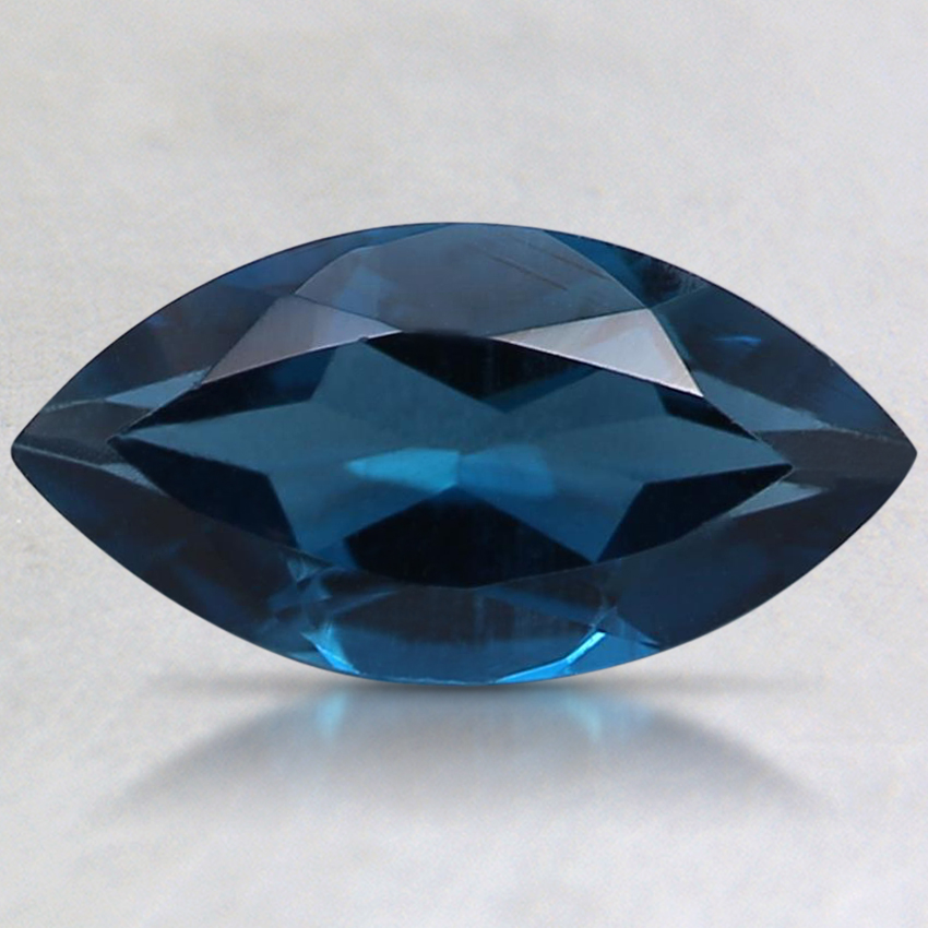 10x5mm London Blue Marquise Topaz