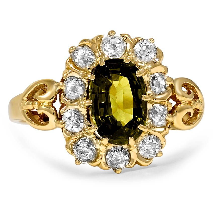 The Olene Ring, top view