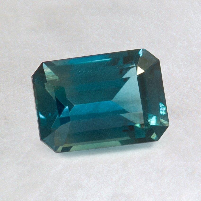 7x5mm Teal Emerald Cut Sapphire Stsl7x5ec3 1