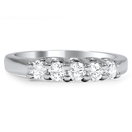 Mercy Wedding Ring, top view