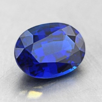 8x6mm Super Premium Unheated Blue Oval Sapphire