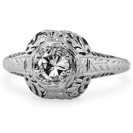 The Acanthus Ring, top view