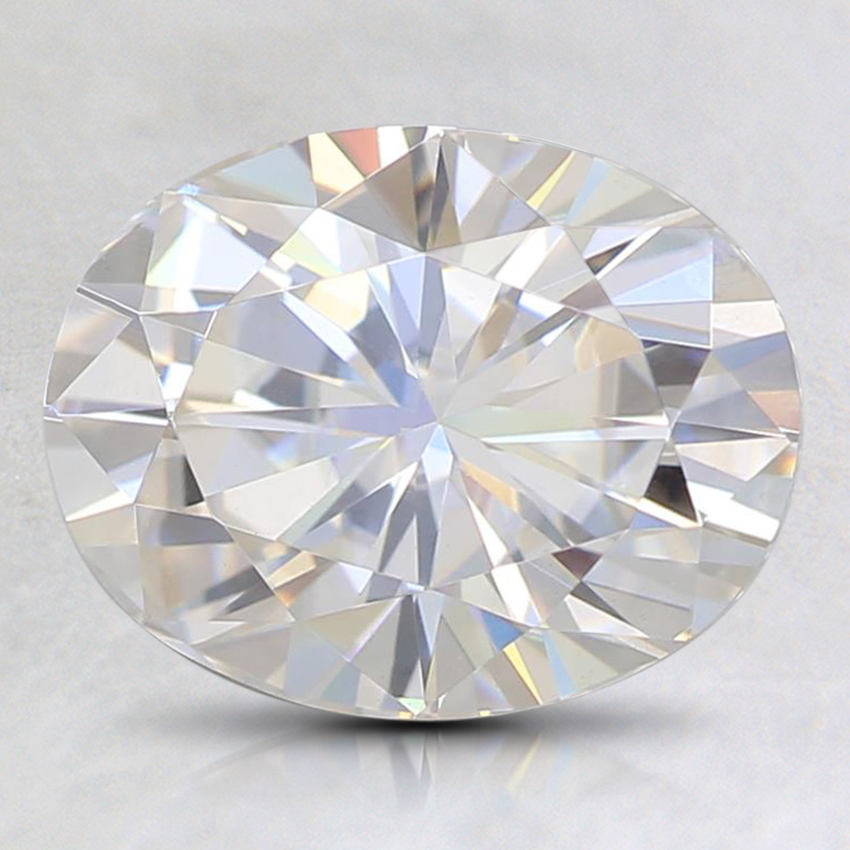 9x7mm Oval Moissanite