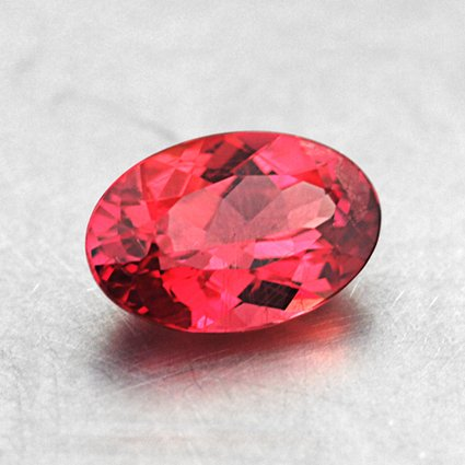 6x4mm Red Oval Ruby
