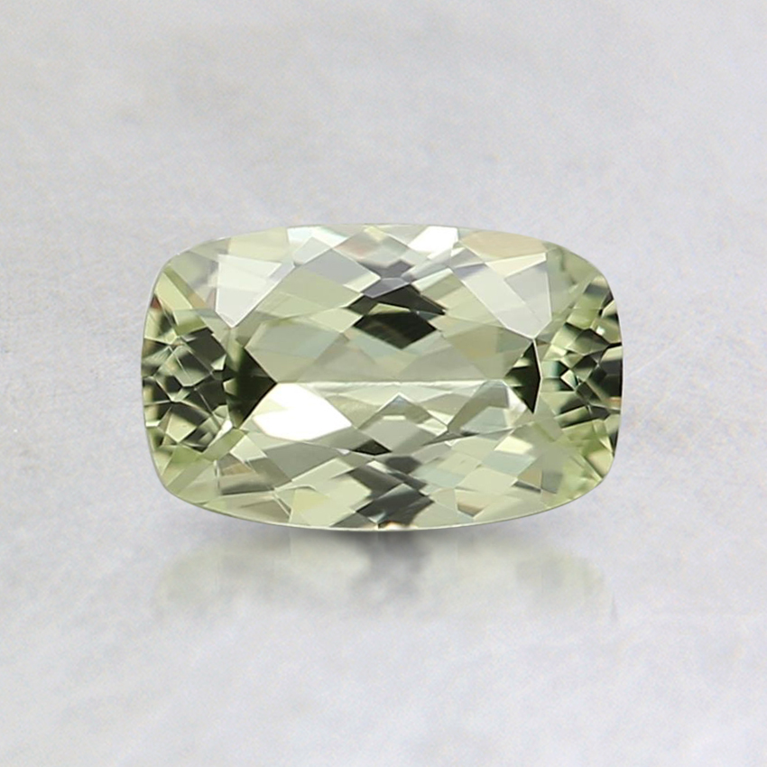 6.4x4.1mm Unheated Green Cushion Montana Sapphire
