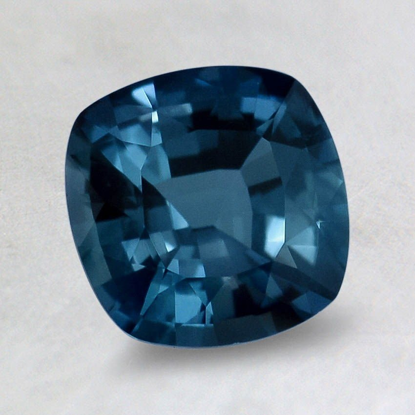 7.5mm Super Premium Vivid Blue Cushion Sapphire