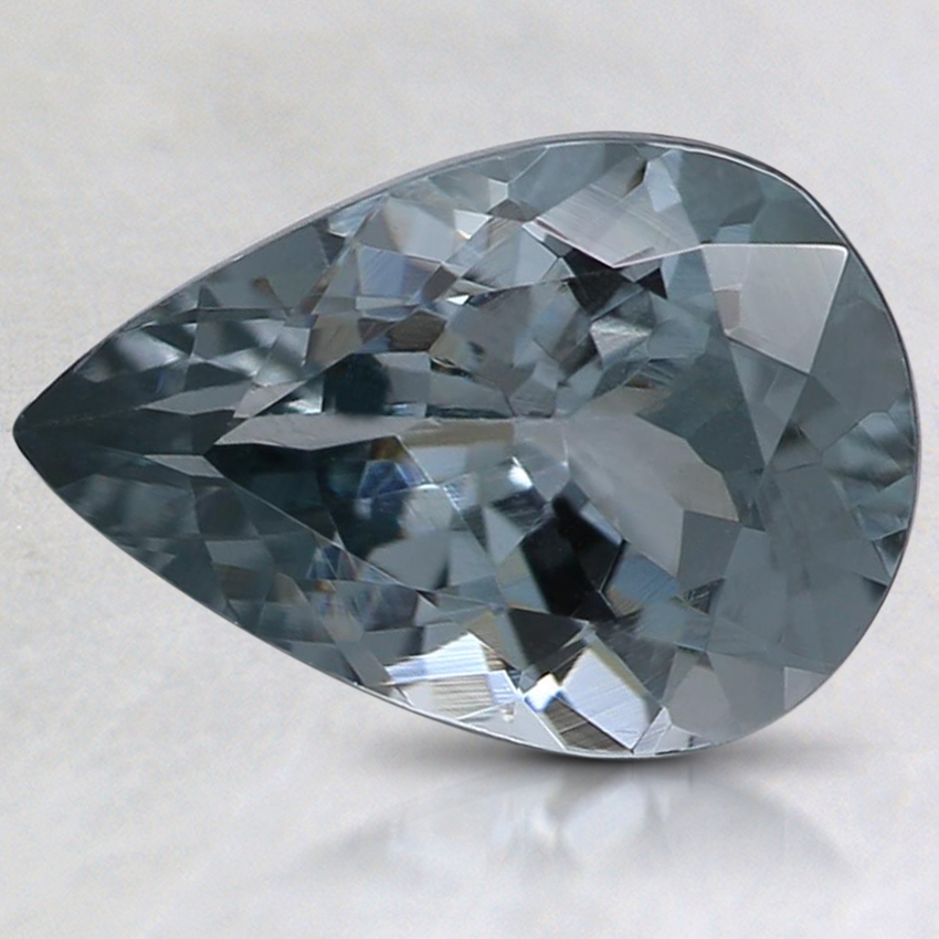 9.9x6.9mm Gray Pear Spinel