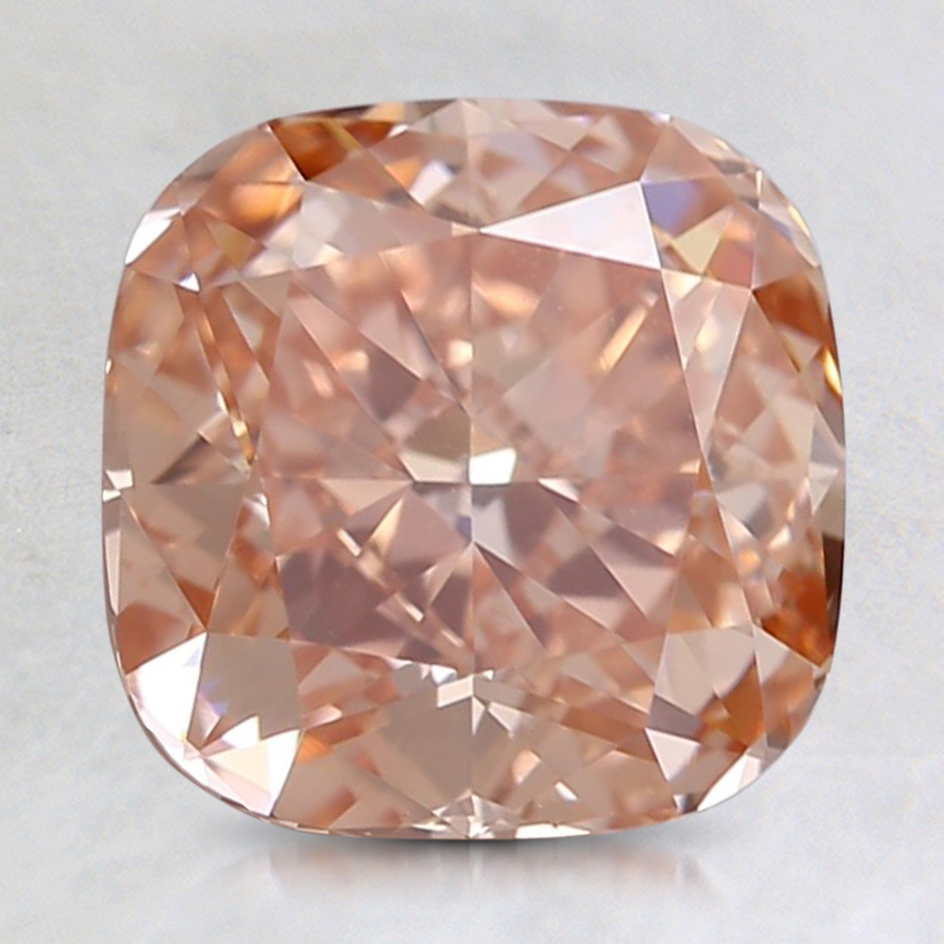 1.94 Ct. Fancy Intense Pinkish Orange Cushion Lab Created Diamond