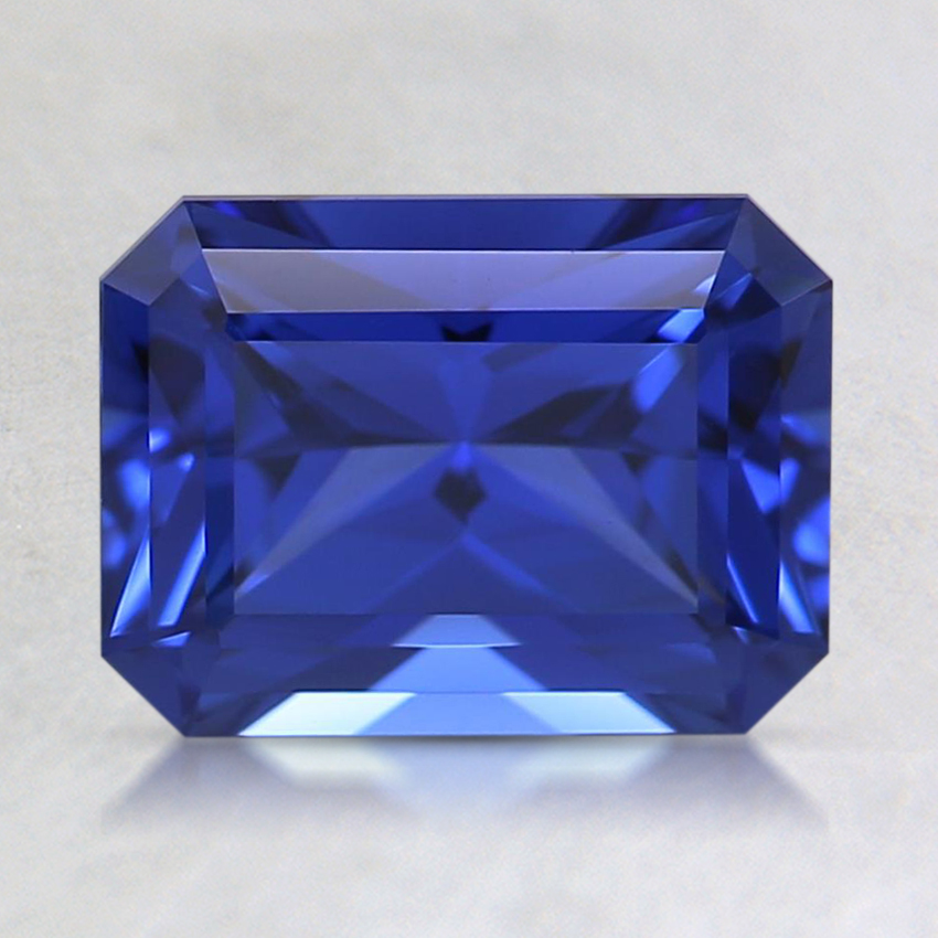 8x6mm Blue Radiant Lab Created Sapphire